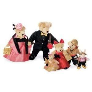 VanderBear Family, Red Carpet Collection   Set of 6 Toys & Games