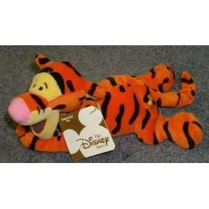 Lying Down Winnie the Pooh Tigger 8 Plush Bean Bag Doll Toys & Games