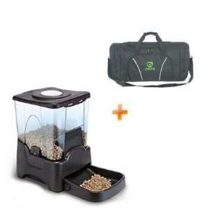 Automatic Pet Dog Cat Feeder 4 Feeding Times Large Scoop