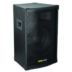 SHS Audio STE 10 A Powered Speaker Cabinet, Black Musical