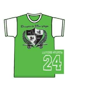 DROPKICK MURPHYS green / white soccer jersey Everything