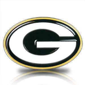 Packers 3D Logo Trailer Tow Hitch Cover, Official Licensed Automotive
