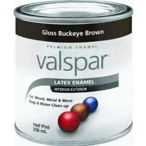 Valspar 410 65045 HP Half Pint Buckeye Brown Gloss Latex