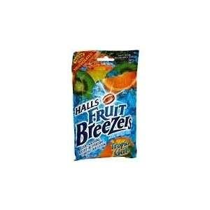 Halls Fruit Breezer Tropical Chill Bag 12x25: Health
