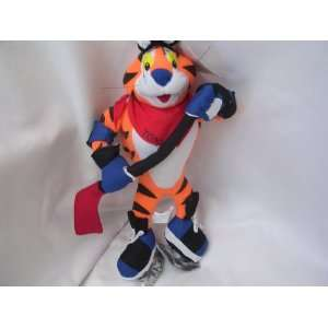 Tony the Tiger Hockey Player Large 14 Plush Toy Collectible 2004