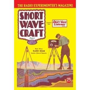 Short Wave Craft Short Wave Radio Bomb Locates Mineral