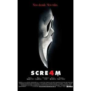 Scream 4 Poster Movie UK 27 x 40 Inches   69cm x 102cm David Arquette