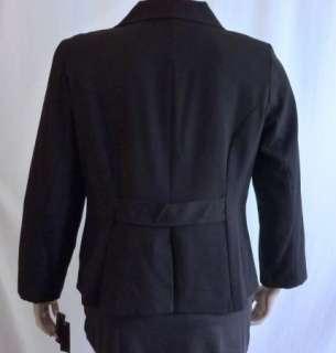 Rafaella Dark Gray Charcoal Textured Blazer Jacket Women Plus Size 16W