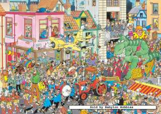   Jumbo 1000 pieces jigsaw puzzle: Jan Van Haasteren   Carnaval (17083