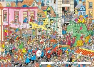 Jumbo 1000 pieces jigsaw puzzle Jan Van Haasteren   Carnaval (17083