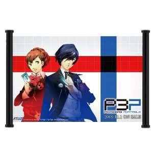 Shin Megami Tensei Persona 3 Game Fabric Wall Scroll