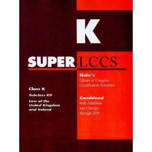 SUPERLCCS 09: Schedule KD (SUPERLCCS: Schedule Kd Law of