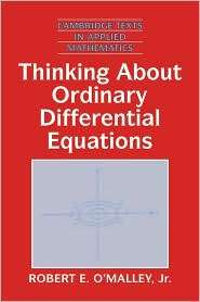 Thinking about Ordinary Differential Equations, (0521557429), Robert E