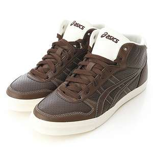 BN ASICS AARON MT LE DX Brown/Brown Shoes #24