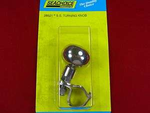 TURNING KNOB STAINLESS STEEL SEACHOICE 28521 FOR BOAT MARINE STEERING