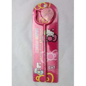 Hello Kitty Face Ball Point Pen w/ 3D Bow   HOT PINK