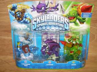 Spyros Adventure Video Game Figures LIGHTNING ROD/CYNDER/ZOOK