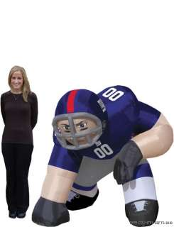 New York Giants NFL Bubba 5 Ft Inflatable Football Player 896332002849