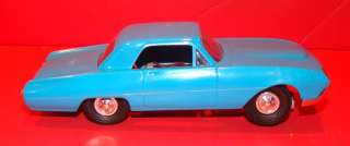 Vintage Slot Cars 1960s 1/32 Sharp Blue Ford Slot Car