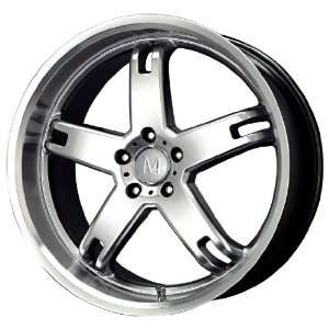 Mandrus Wheels Regenmeister Series Hyper Silver Machined Wheel (22x9