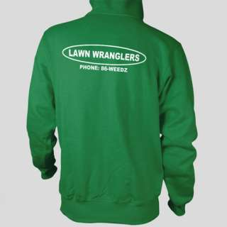 Lawn Wranglers BOTTLE ROCKET Zissou Tenenbaums Lawn Care FLEECE CREW