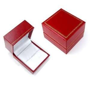 14K White Gold Princess Cut Diamond Mens Earring (1.50Ct, Black Color
