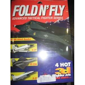; 3D; STEALTH ATTACK BOMBER; X 29; YF 23A; X 31: MICHAEL LEE: Books
