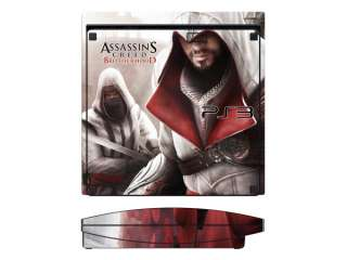 Assassins Creed 2 Sticker Skin Decal for Sony PS3 Slim
