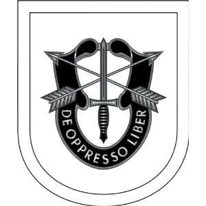 US Army Special Forces Training Group Vinyl Decal Sticker