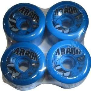 Arbor 4 Set Street Series Skateboard Wheels   Blue / 65mm
