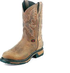 LAMA MEN SIZE 10 EE WATERPROOF EH STEEL TOE NEW WESTERN BOOTS WT 1006