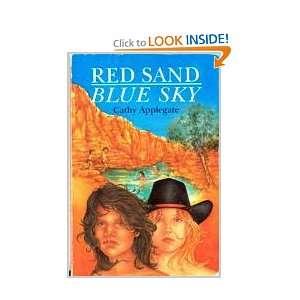 Red Sand Blue Sky Cathy Applegate 9780947241742  Books