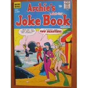 Archies Joke Book #165, Oct. 1971 Archie Comic Publications Books