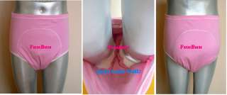 2101Pink Incontinence Plastic Adult Baby Training Pants