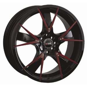 Black Rims Wheels 08 Honda Fit Toyota yaris SET OF 17 INCH XXR WHEELS