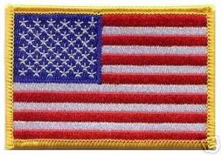 TOPGUN TOP GUN FLIGHT SUIT PATCH USA FLAG STARS STRIPE