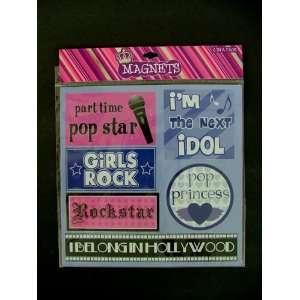 Princess, Rock Star, Pop Star, Idol Magnets