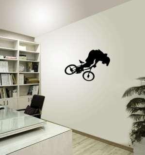 BMX BIKE   Wall Decals Stickers Murals Vinyl Art Boy