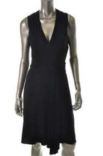 Donna Ricco New York NEW Black Versatile Dress Stretch Sale 14