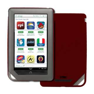 Red Hard Stealth Case Cover for  Nook Color 886571310423
