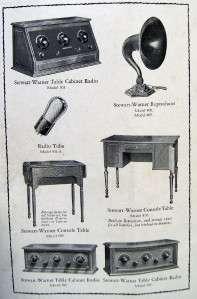 RADIO INSTRUCTION MANUAL BROCHURE GUIDE 1925 VINTAGE 1920S