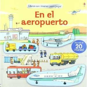 EN EL AEROPUERTO   LIBROS CON IMANES PARA JUGAR