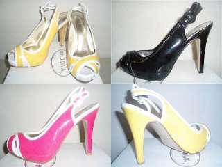 Diva Open Peep Toe Sexy Slingback Criss Cross Sandals Pumps High Heels