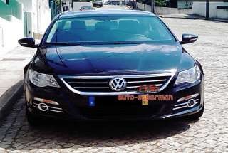 Chrome Fog Light cover trim For vw passat cc 2009 2011