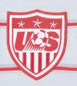 Nike UNITED STATES USA POLO SHIRT SOCCER WC 2010 WHT