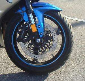 Yamaha R1 R6 Rim Stripes Wheel Decal Tape Sticker