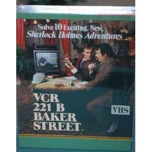 Sherlock Holmes VCR 221 B Baker Street VCR Mystery Game