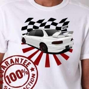 Subaru Impreza WRX STI GC8 JDM Racing T Shirt #611