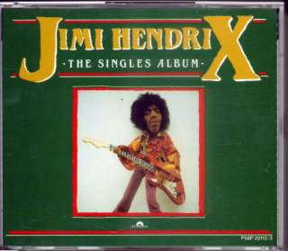 Jimi Hendrix The Singles Album 87 JAPAN 2 CD P58P OOP Rare H/F best