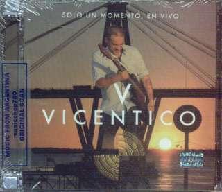 CD + DVD SET VICENTICO SOLO UN MOMENTO EN VIVO SEALED NEW 2012 LIVE